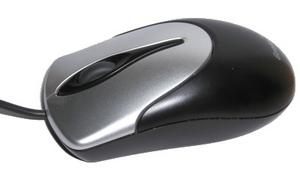 Ratón con rueda entre el botón derecho e izquierdo