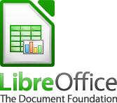 Logotipo de LibreOffice con icono de Calc