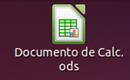 Icono de un fichero de hoja de cálculo