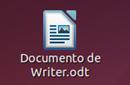 Icono de un fichero de texto