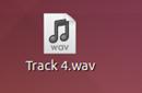 Icono de un fichero de música