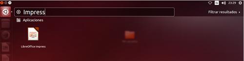 Buscador de Ubuntu