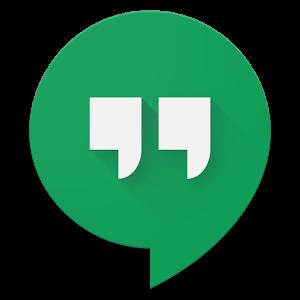 Botón de Hangout