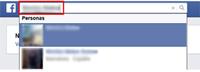 Buscador de amigos de Facebook