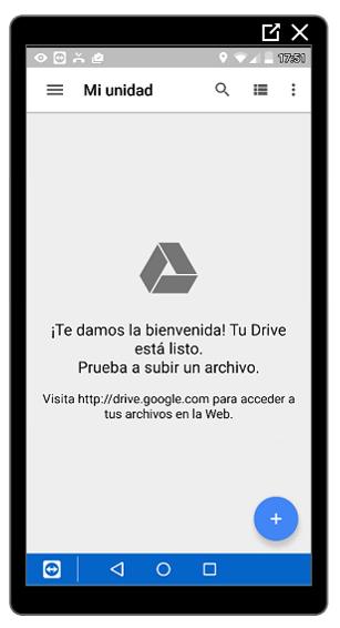 Inicio de Google Drive